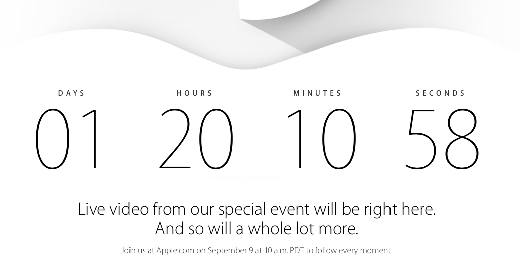 iPhone 6 Countdown