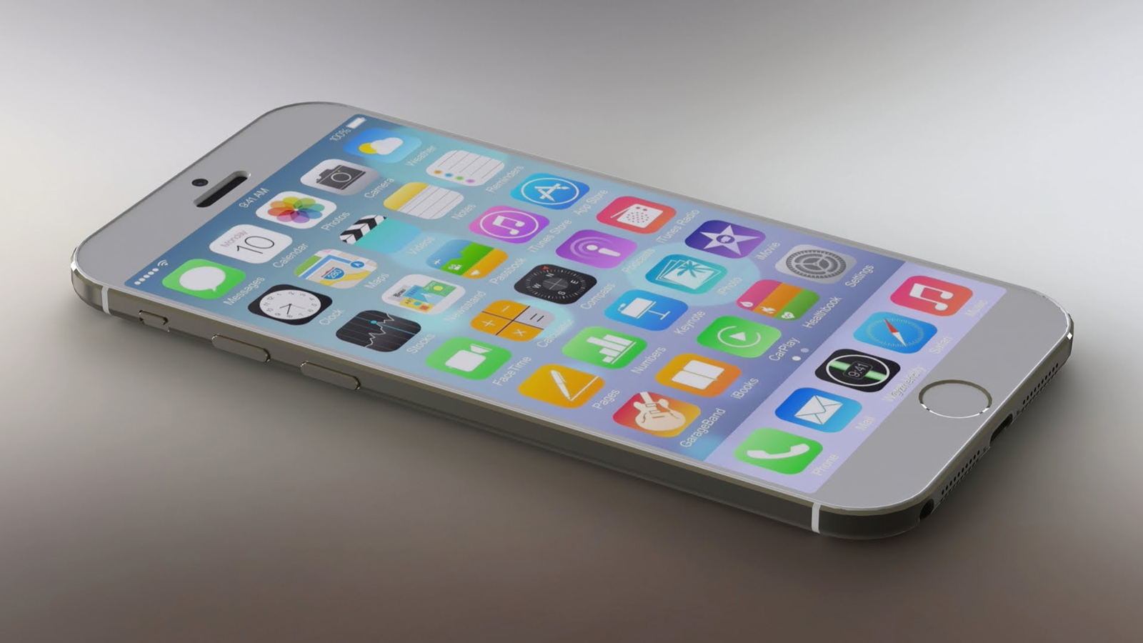 Mockup of iPhone 6