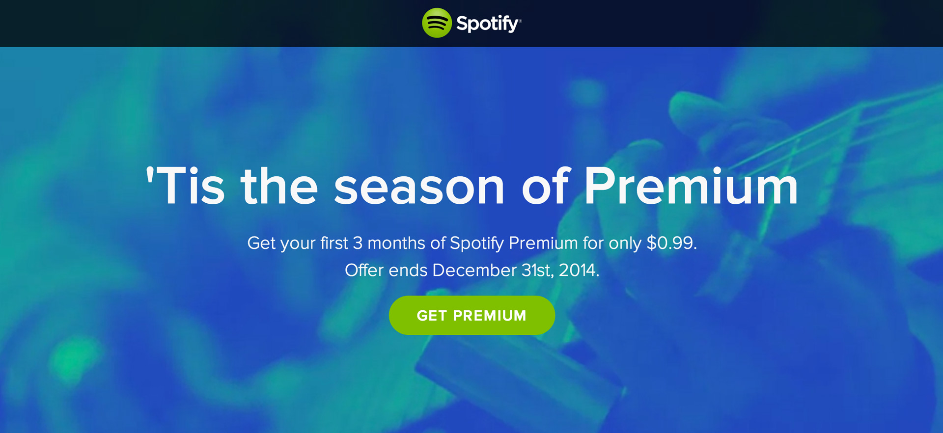 3 Months Of Spotify Premium For 99 Cents Thinkcode
