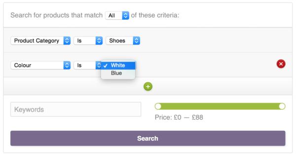 WooCommerce Product Finder Color Filter