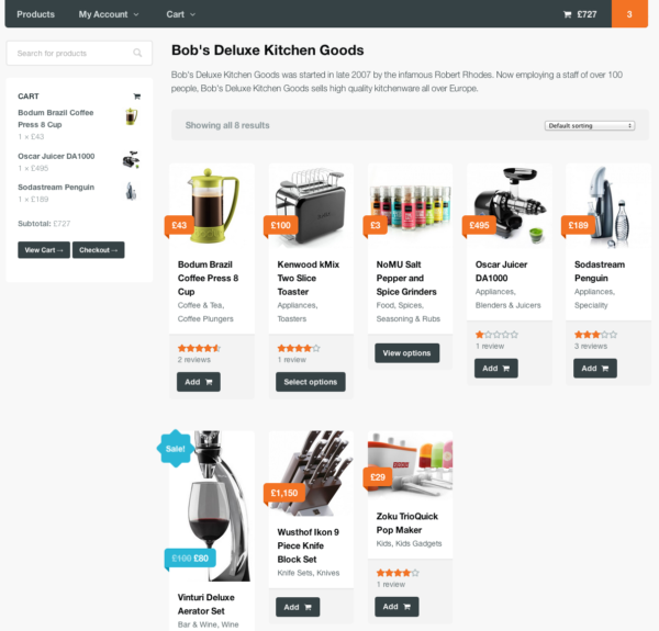 WooCommerce Product Vendors Shop Page