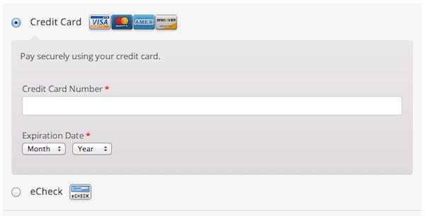 Authorize.NET CIM Checkout