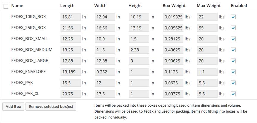 WooCommerce Fedex Shipping Method Plugin